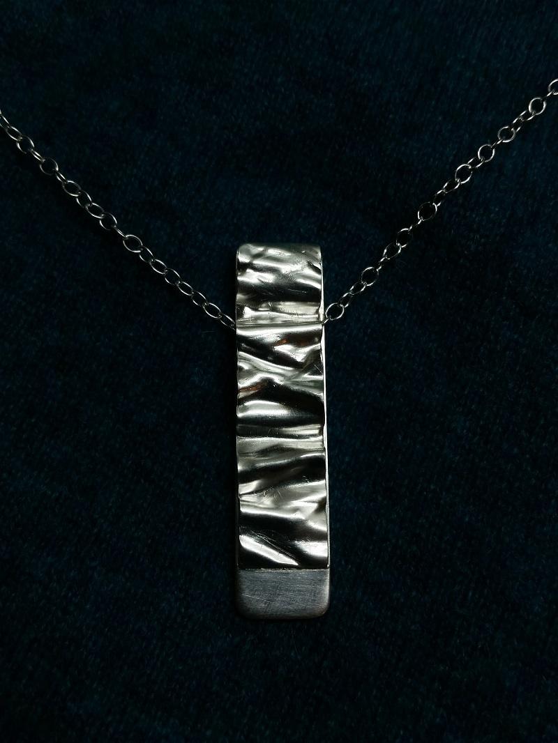 Silverhänge silverhalsband